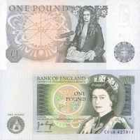 The One Pound Note - sadly no more