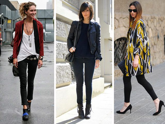 how to wear black jeans in summer