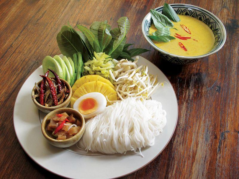 ขนมจีน | อาหาร, อาหารเช้า, อาหารไทย
