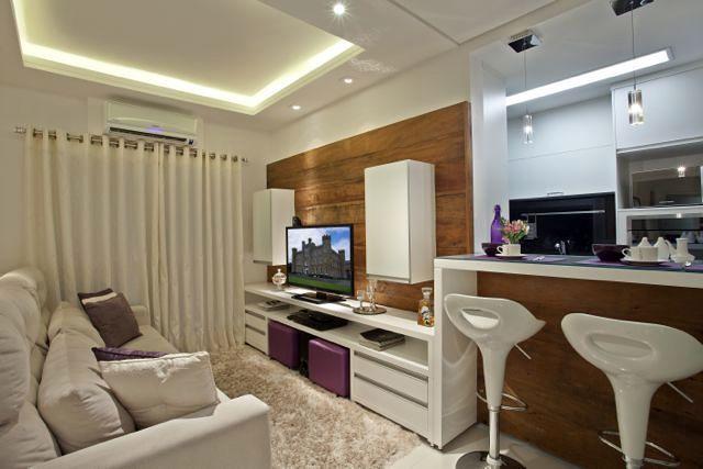 Living conjugada com cozinha 640 427 for Sala de 9 metros quadrados