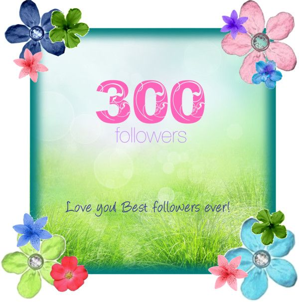 """""""300 followers; thank you xx"""" by sanne-g ❤ liked on Polyvore"""