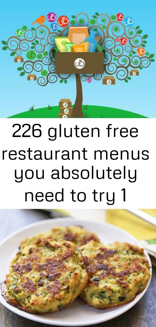 226 gluten free restaurant menus you absolutely need to try 1 226 Gluten Free Restaurant Menus You Absolutely Must Know Tasty zucchini fritters are baked rather than frie...
