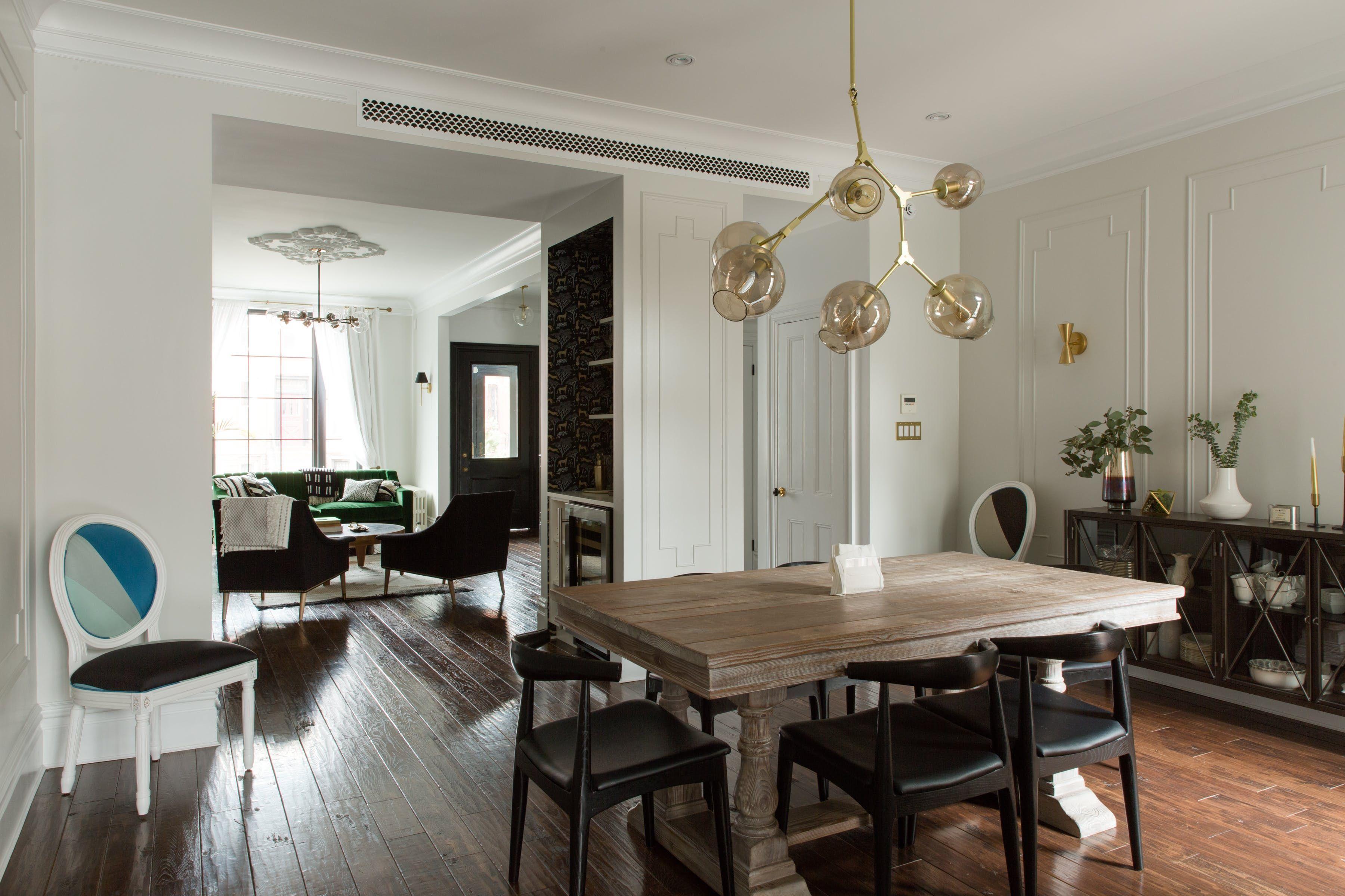 A Classic Brooklyn Brownstone Gets Bold Modern Face Lift
