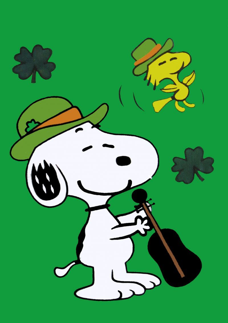 happy st patrick u0027s day charles m schulz saint patrick u0027s day