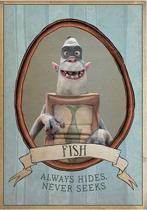 New boxtrolls images reveal quirky and clever character for Clever fish names