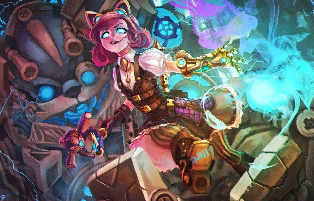 Annie Skin Fan Art League Of Legends League Of Legends In 2019
