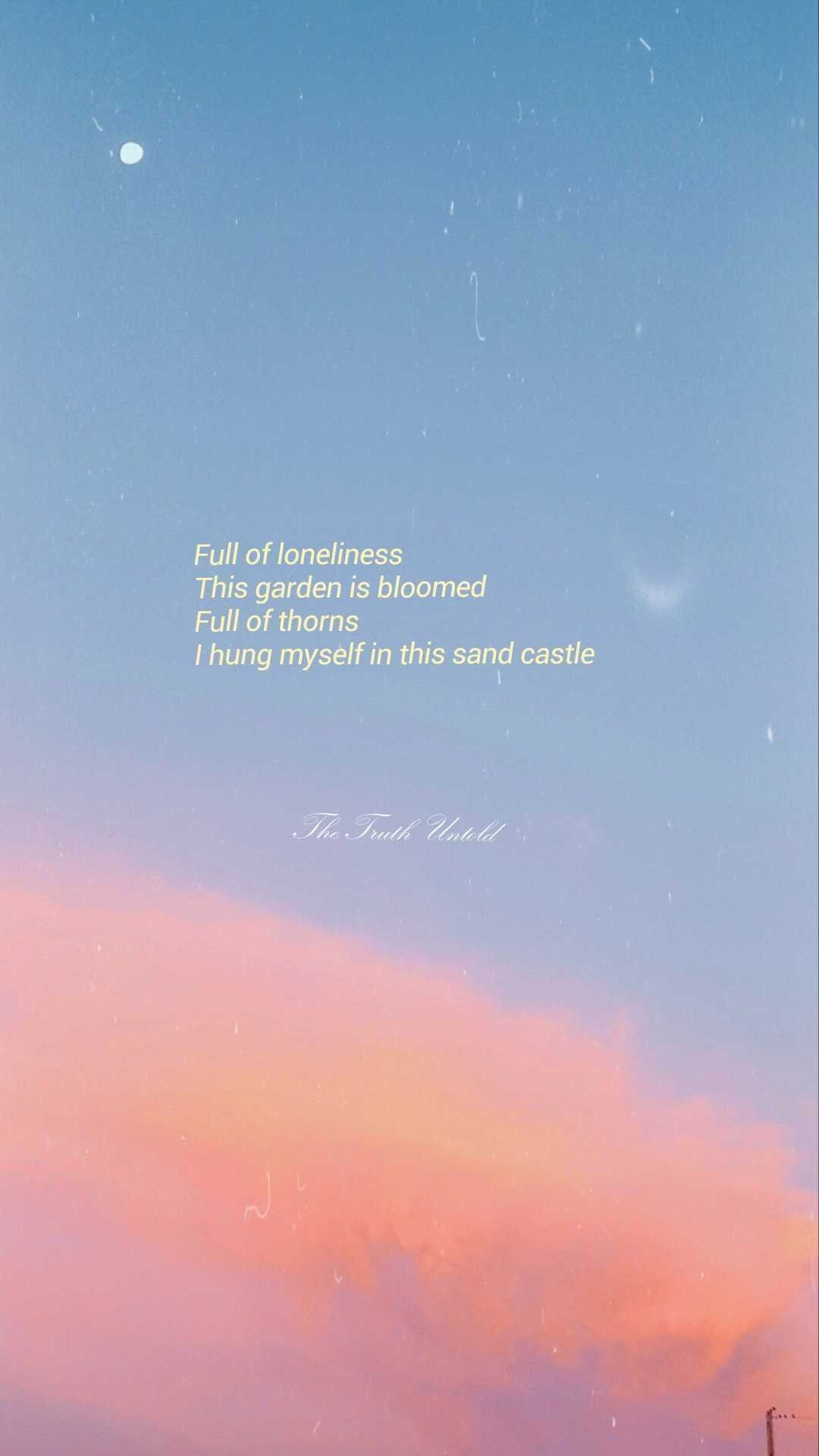Aesthetic Bts Wallpaper Bts Aesthetic Wallpaper The Reason To Think About A Wall In Your Own Garden Is O In 2020 Bts Wallpaper Lyrics Bts Lyrics Quotes Bts Lyric
