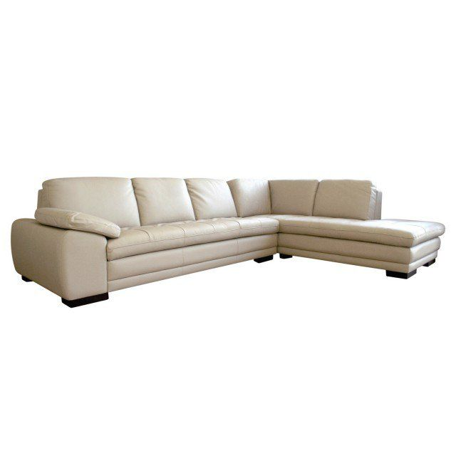 Diana Beige Sofa Chaise Sectional By Baxton Studio 625 M9818