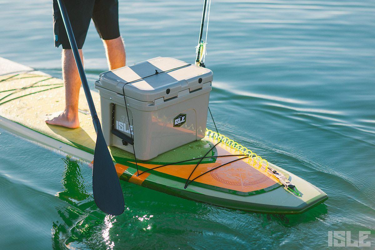 ISLE Sportsman Fishing Paddle Board Package Sup fishing