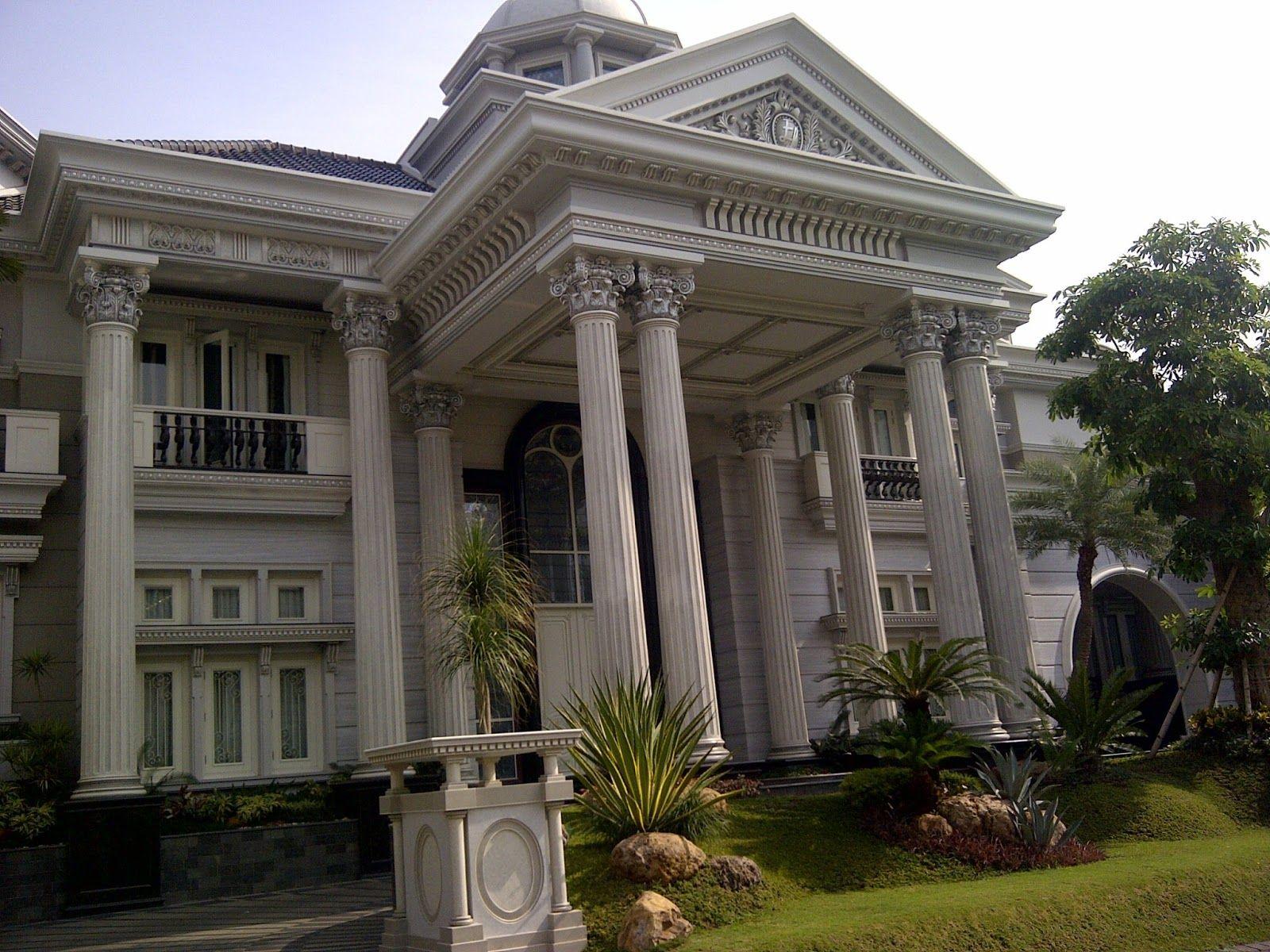 Desain Rumah Klasik Amerika House design, Classic house