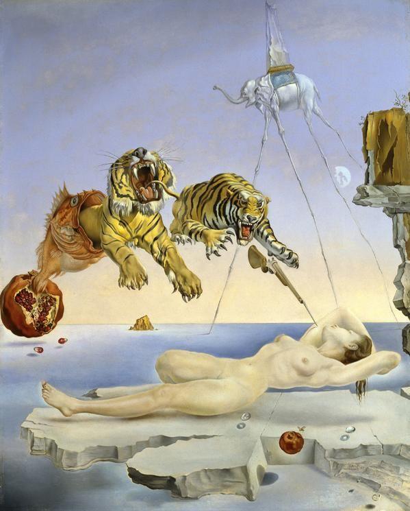 Los tigres de Dalí