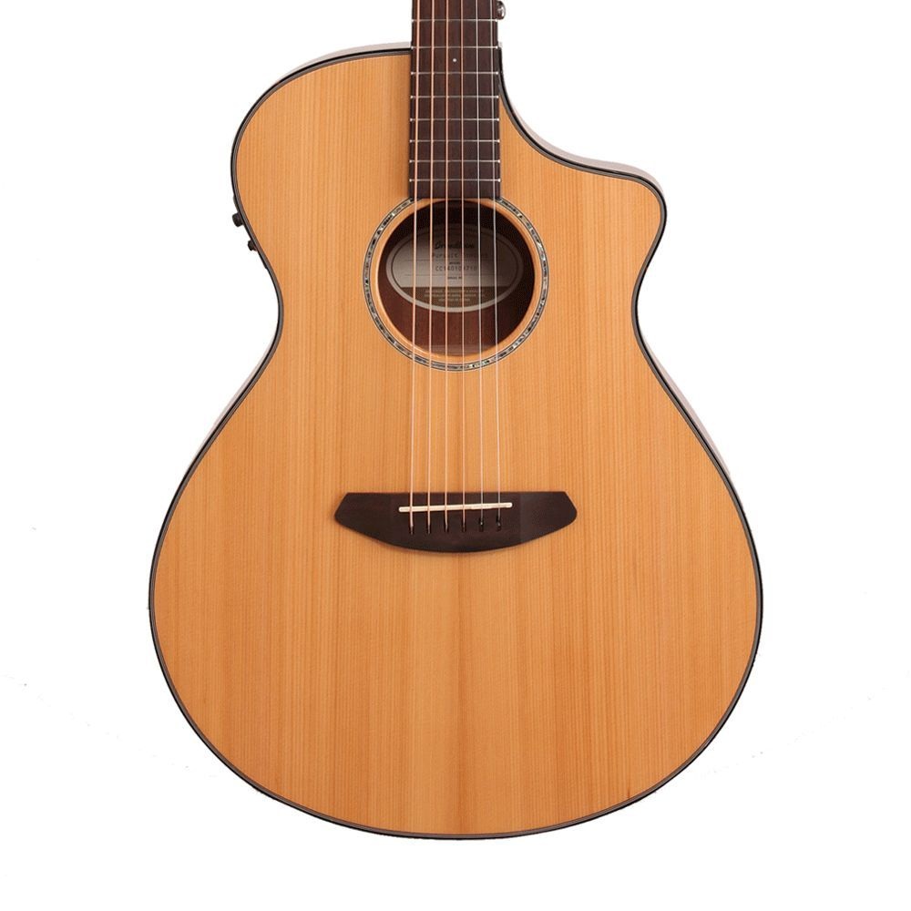 Breedlove Pursuit Concert Acoustic-Electric Guitar with Gig Bag - B-Stock