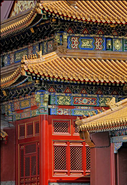 Sunset At Forbidden City Forbidden City Beijing China Travel