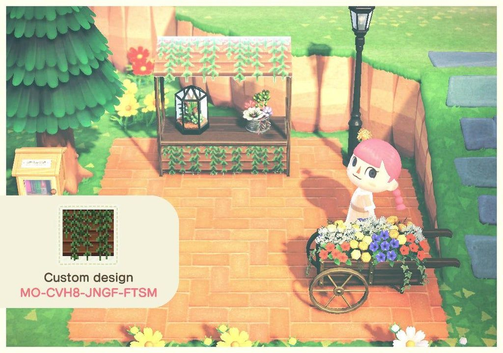 Overgrown Foliage Stall ACQR in 2020 Animal crossing