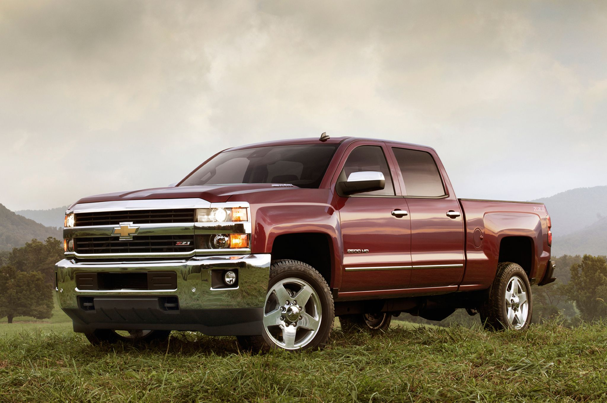 2015 chevrolet silverado 2500hd z71 front view