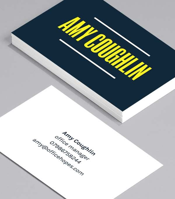 Visitenkarten Design Visitenkarten Designvorlagen