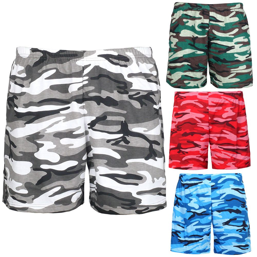 Details about Mens Womens Military Camouflage Elastic Waist Band ...