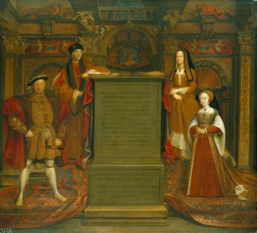 The Royal Collection: Henry VII,  Elizabeth of York, Henry VIII and Jane Seymour