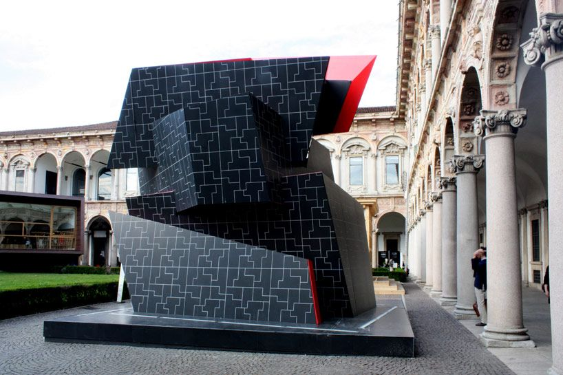 daniel libeskind beyond the wall interni ibrida