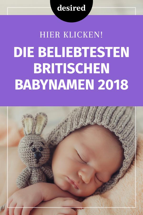 Hier kommt die Top 20 der englischen Mädchen- und Jungennamen, die Eltern 2018 ...