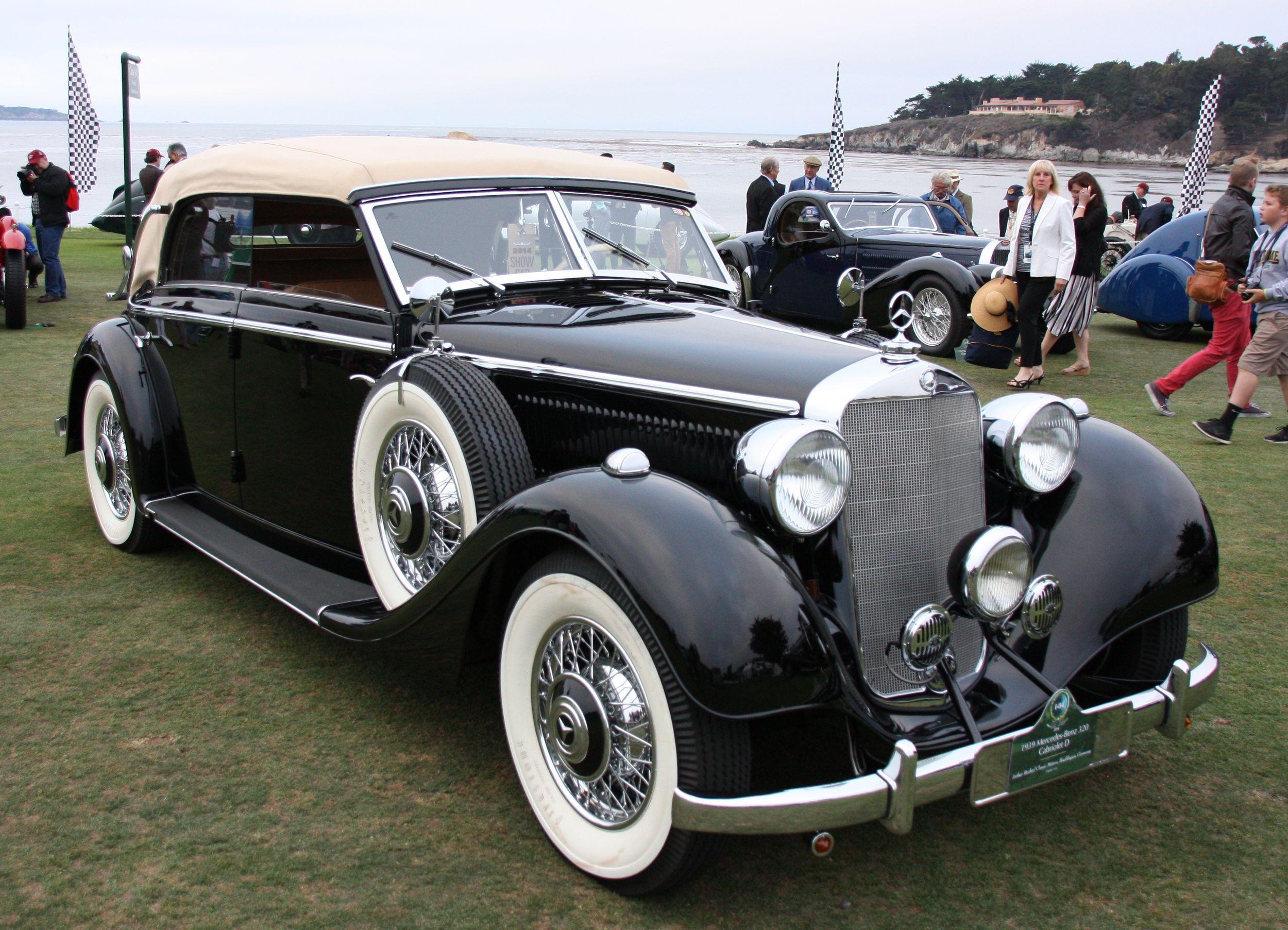1939 Mercedes-Benz 320 Cabriolet   Automobiles   Pinterest   Benz ...