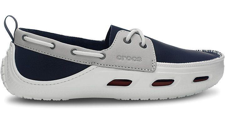 Mens Crocs Cove Boat Shoes