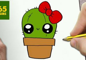 COMMENT DESSINER CACTUS KAWAII TAPE PAR TAPE Dessins ...