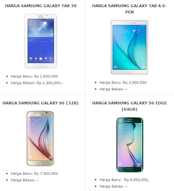 Daftar Harga Hp Android Samsung Galaxy Tab Terbaru 2016 Ideas For