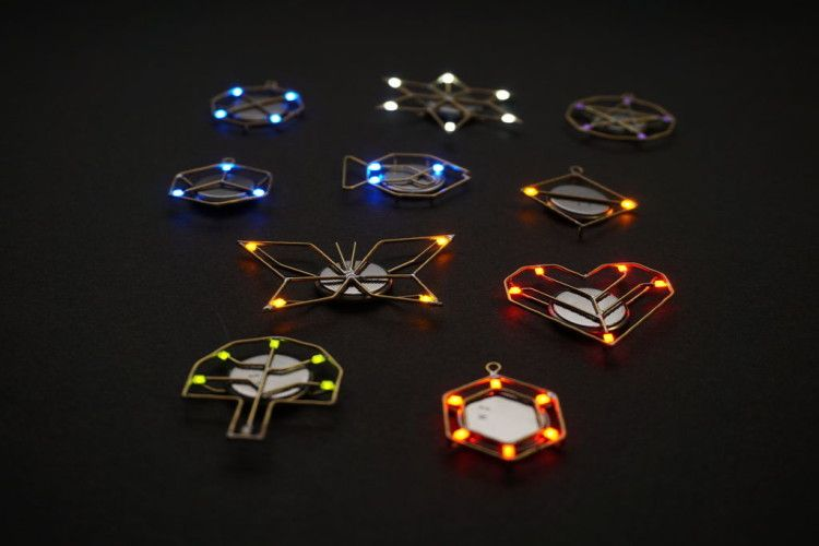 Step By Step Tutorial How To Make Diy Led Jewelry Led Diy How