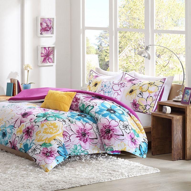 Intelligent Design Ashley Reversible Comforter Set Comforter
