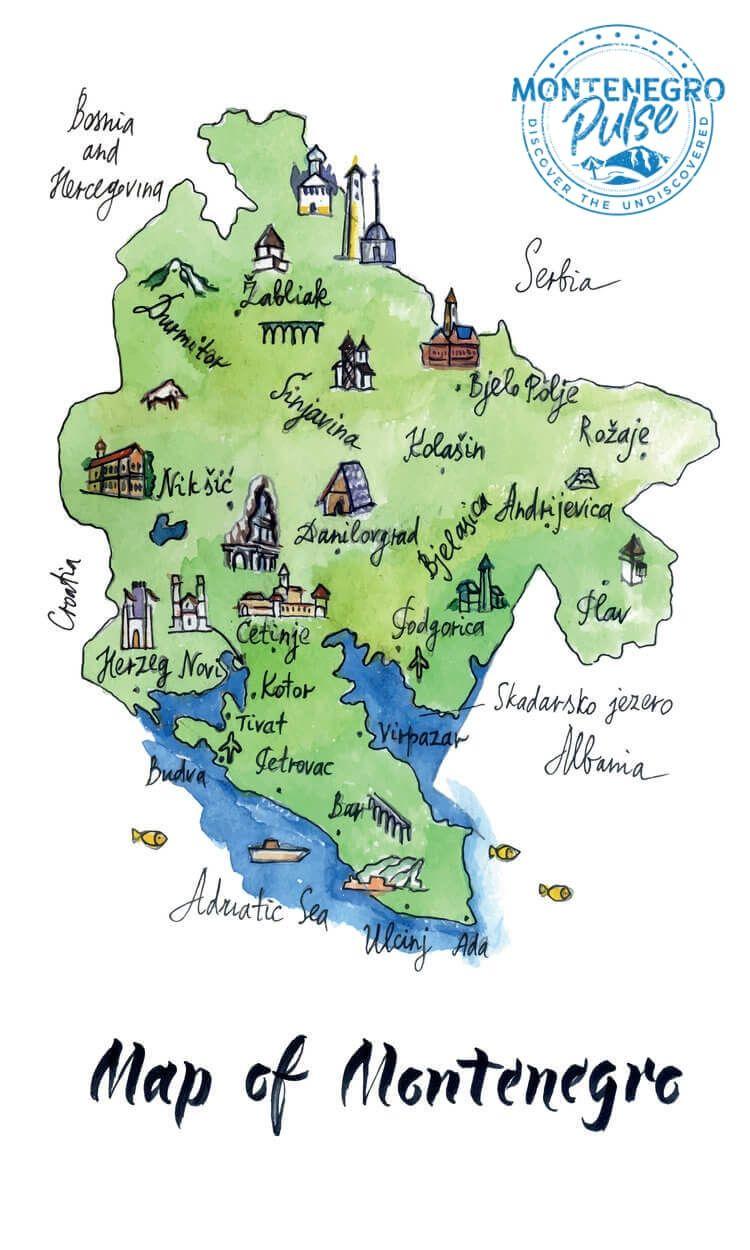 Kotor Montenegro Karte.The Best Montenegro Map And It S Free Best Of