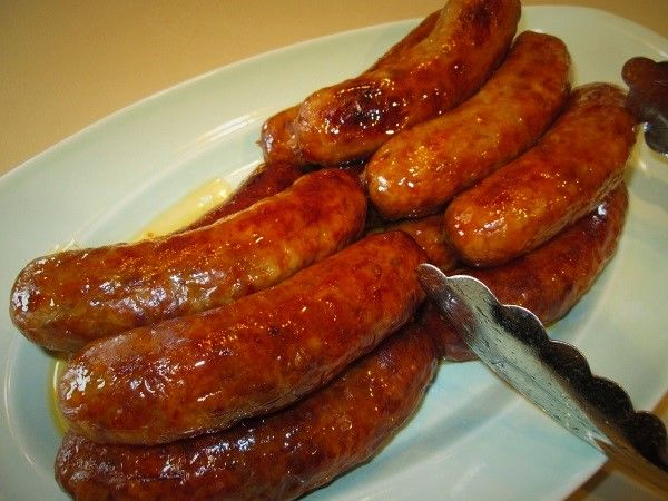 How To Cook Italian Sausage In An Oven You Want The Perfect Juicy Italian Sausage With That Pe Sausages In The Oven Italian Sausage In Oven How To Cook Sausage