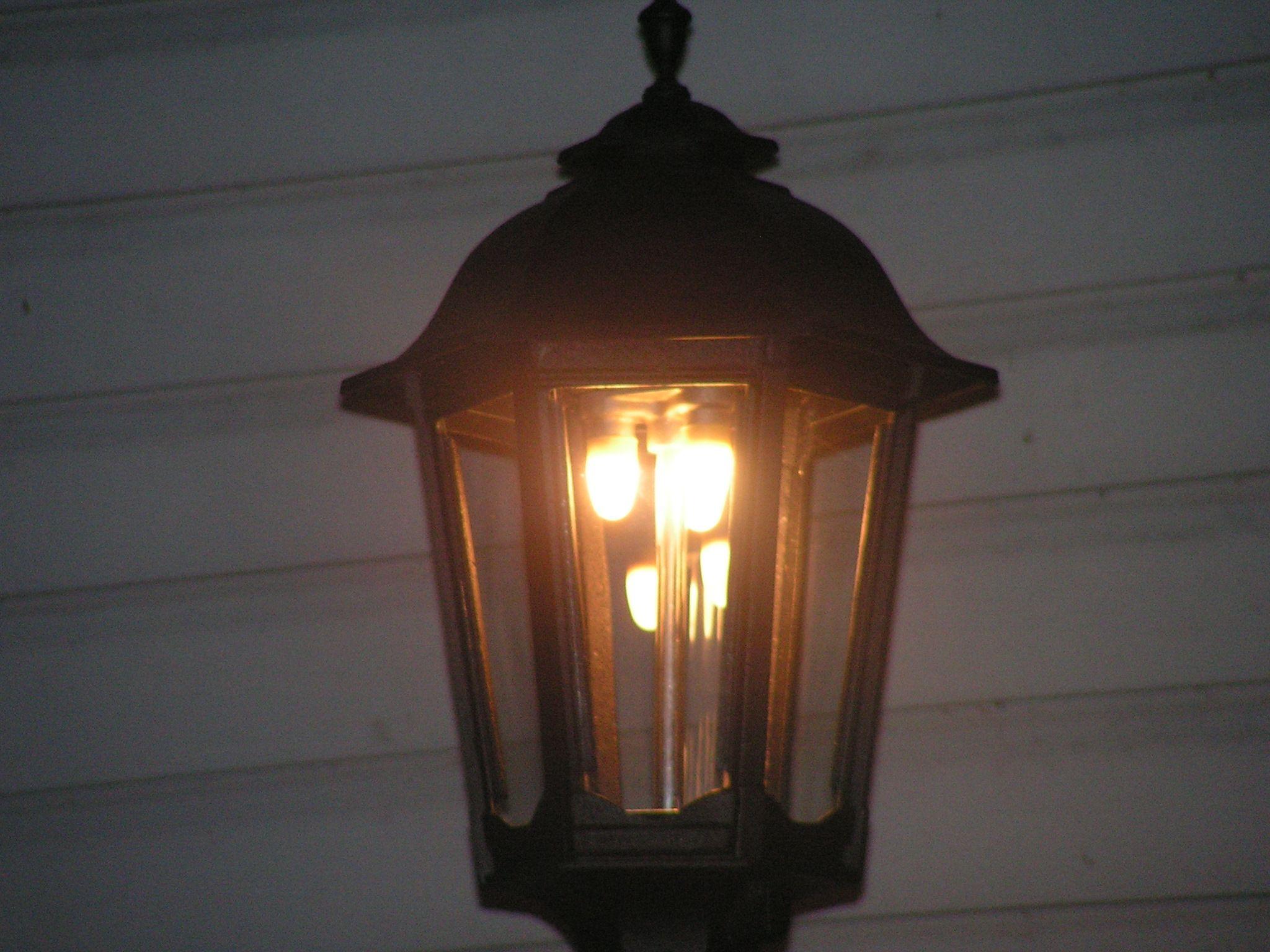 LED that looks like a gas light | Outdoor Lighting | Pinterest ... for Gaslight Lamp  66plt
