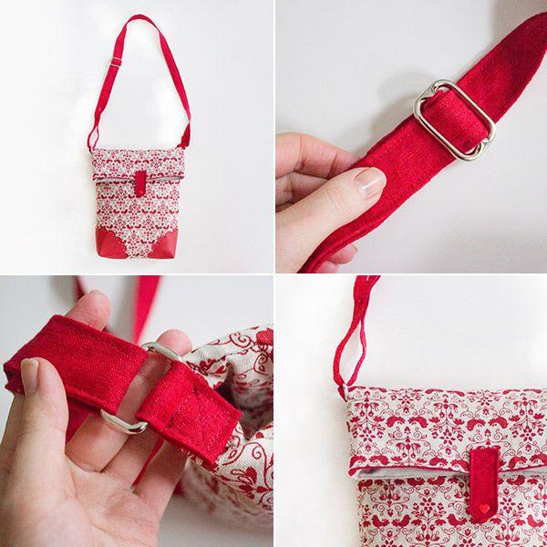 c22f7ad9bb403 Mini-DIY  So nähst du einen verstellbaren Schultergurt an eine Tasche