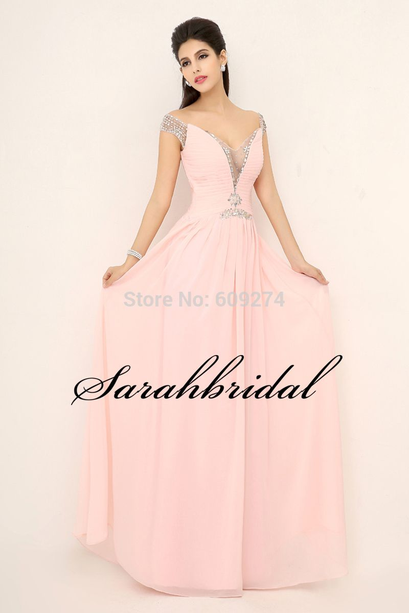 Click to buy ucuc long formal winter prom dresses with crystal