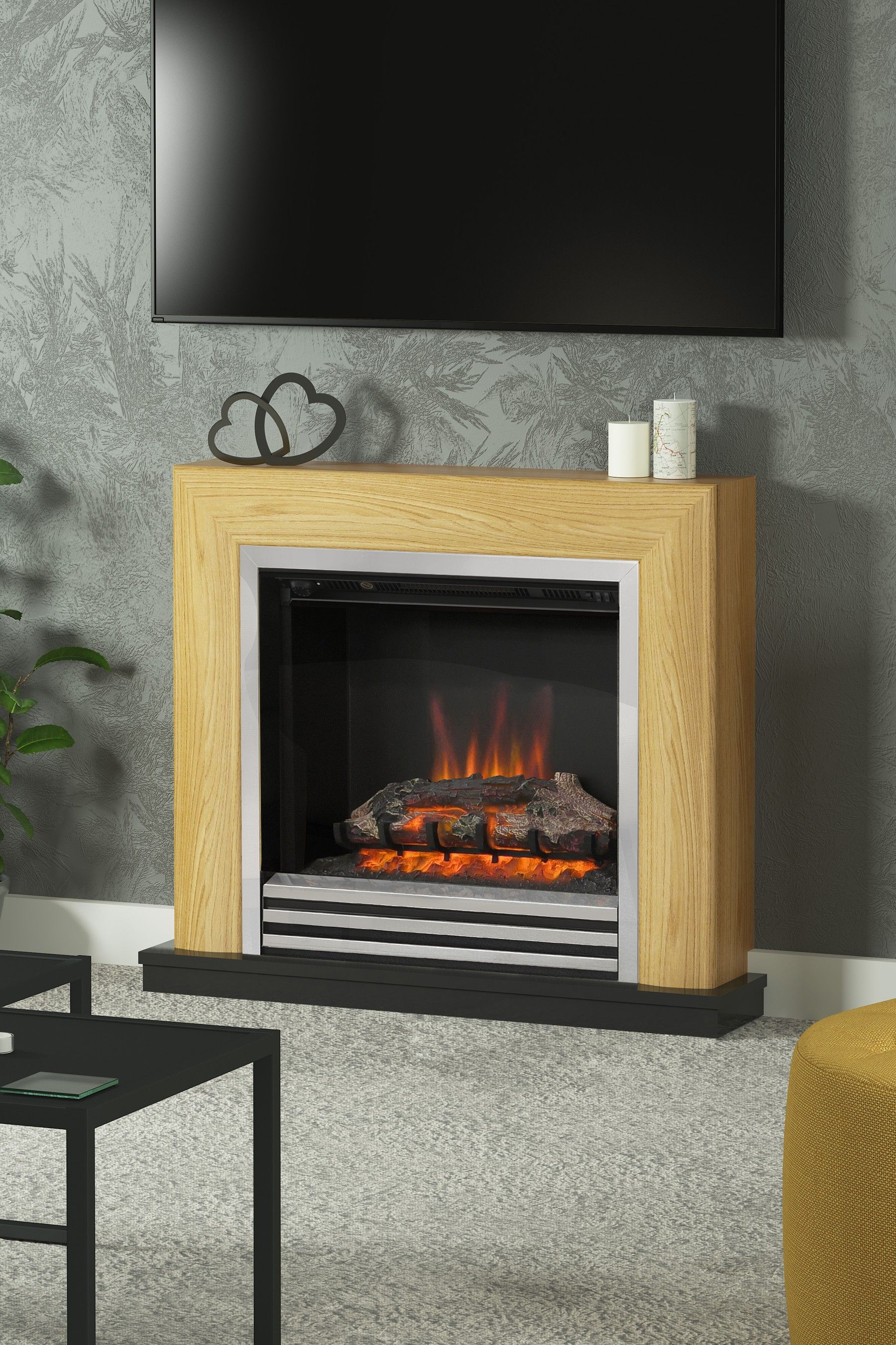 8a2fe1b25fc Rothersay Electric Fire Suite By Be Modern