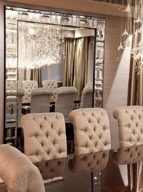 Luxurious Dining Room in Blush Pink House ideas Pinterest