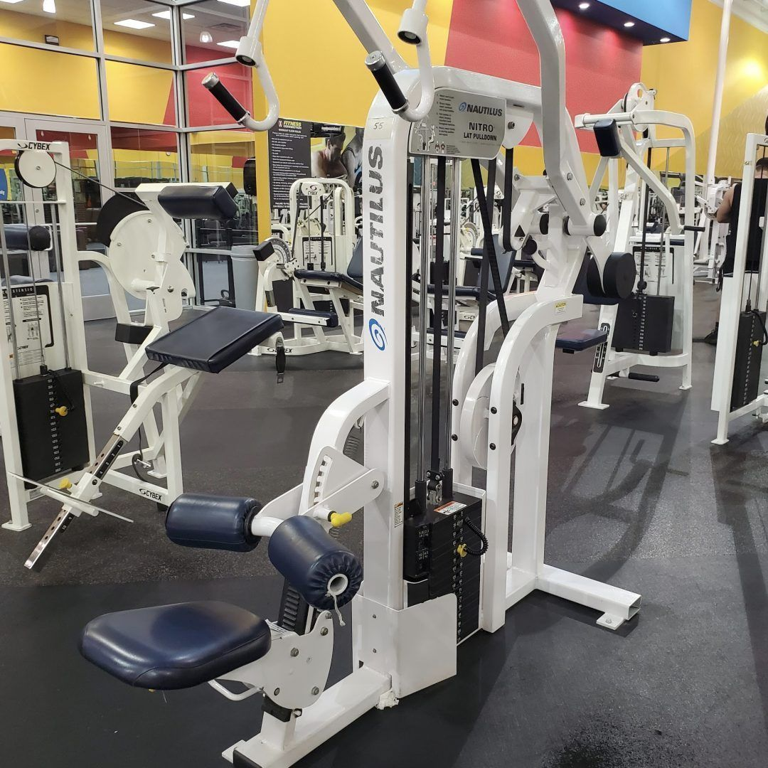 Nautilus Nitro 8 Piece Strength Gym Package Primo Fitness Used Gym Equipment Gym Home Workout Equipment