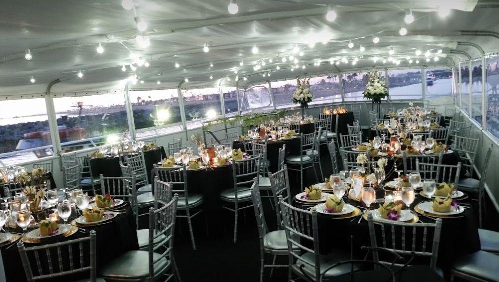 Charter yachts of newport beach wedding venue newport