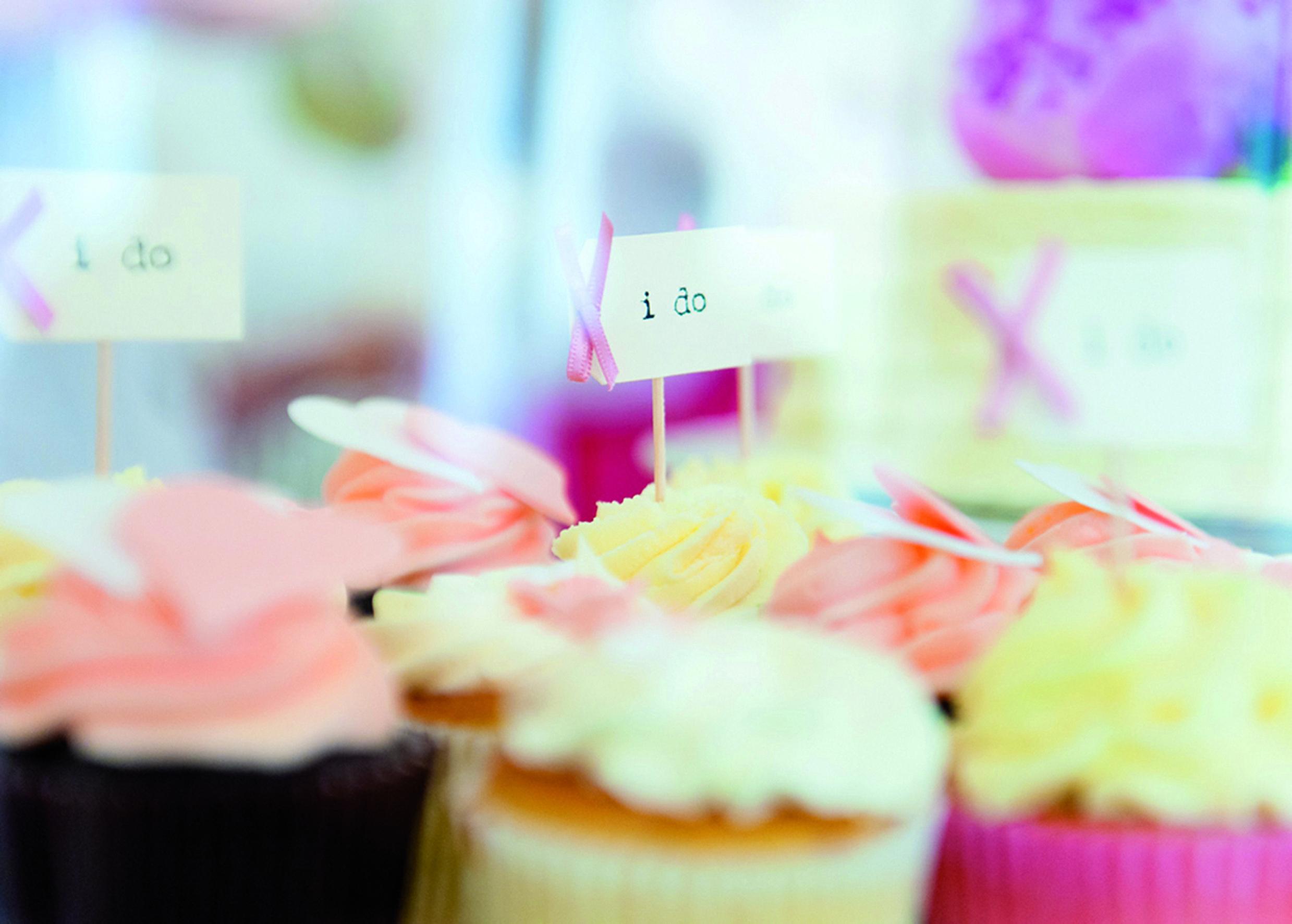 #agenturTraumhochzeit Cupcakes I do
