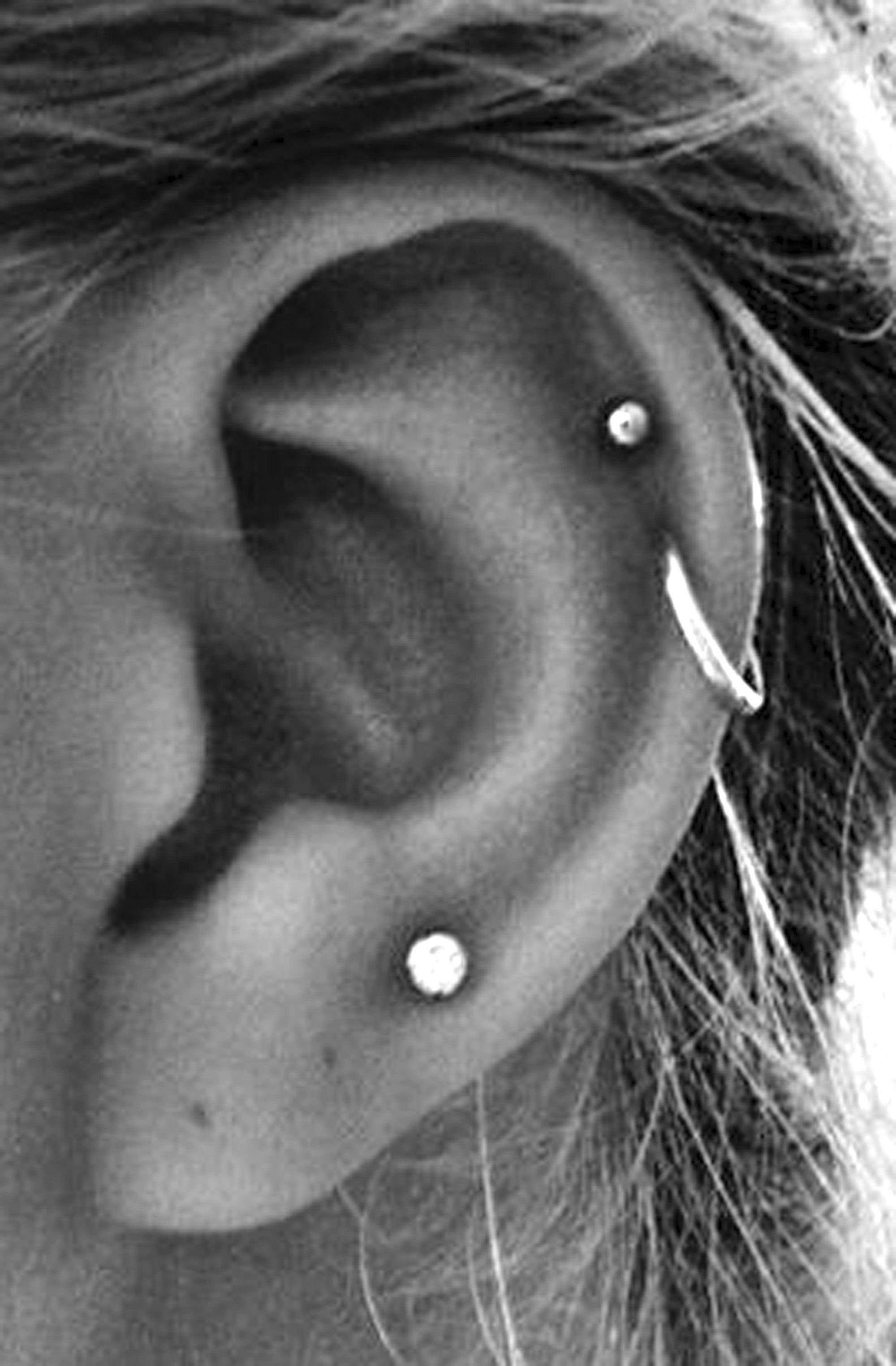 cute multiple ear piercing ideas #earpiercingideas