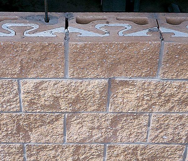 Concrete masonry units nrg insulated block finishes for Insulated cinder blocks