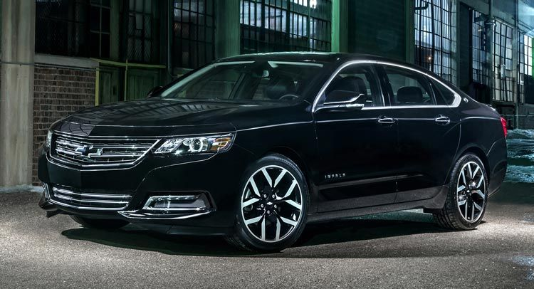 2016 Chevrolet Impala Midnight Edition Goes From Sema Study To