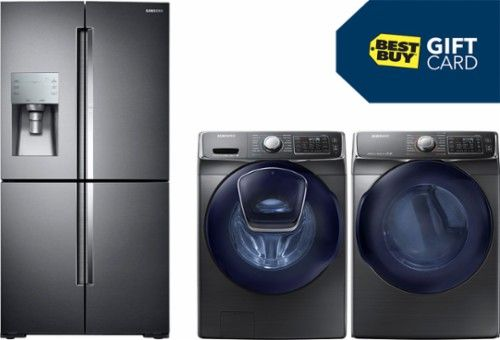 Washer, dryer, refrigerator