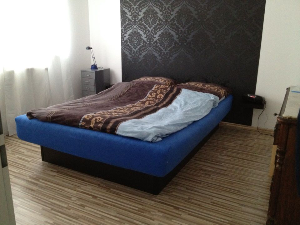 Wasserbett 160x 220 cm, 16 Monate alt. Neupreis 1300€ | Furniture ...