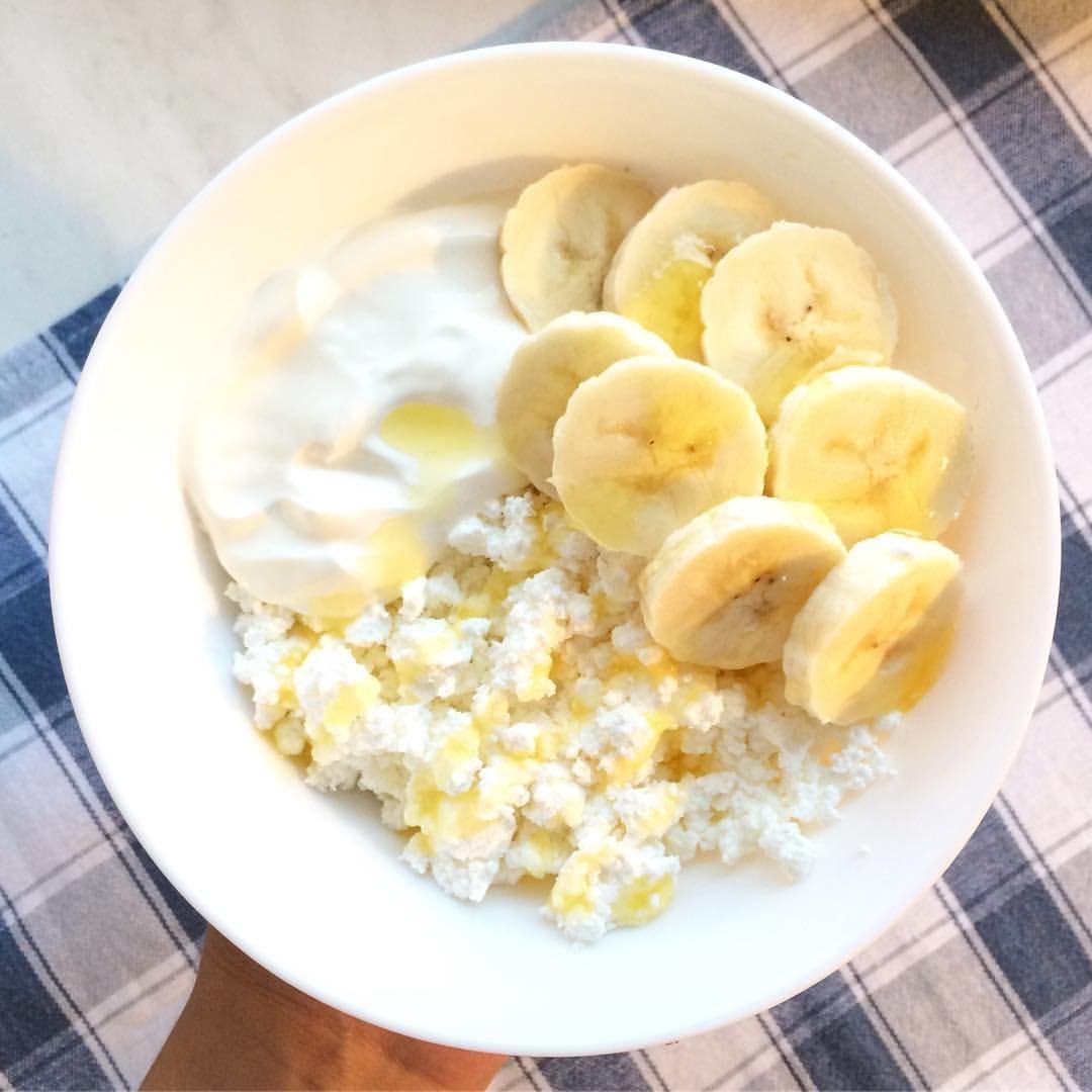 Бананово творожная диета