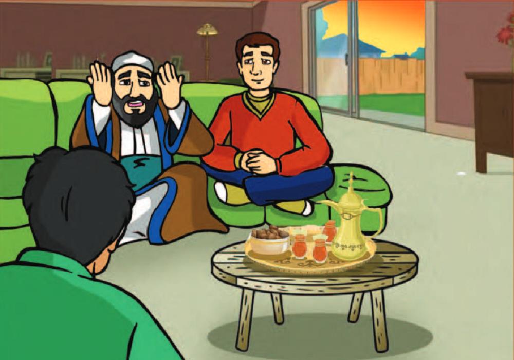 في يوم من ذات الأيام كان هناك شيخ عجوز جالسا مع ابنه الشاب وخلال حديثهما معا طرق الباب فجأة فأسرع الشاب ليرى من الطارق وإذا برج In 2021 Family Guy Character Story