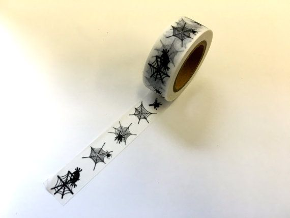 Spider Web Washi Tape Scrapbooking Decoration by PlayingWithColor2