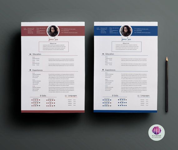 Cv Template  Resume Template Cover Letter By Chictemplates