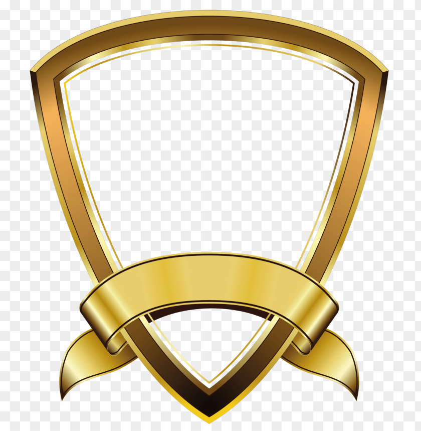 Gold Shield Png Png Image With Transparent Background Png Free Png Images Banner Clip Art Welcome Logo Free Png